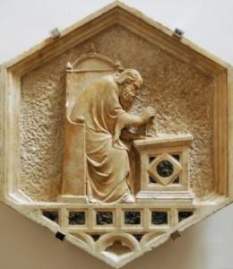 Евклид. Мраморная панель