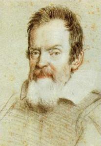 Галилео Галилей. Портрет работы Оттавио Леони