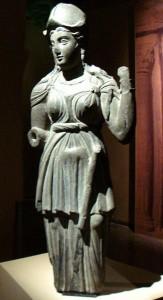 Статуэтка Афины из Гандхары