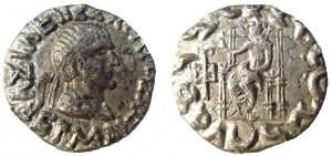 Монета Гермия. Индо-греки