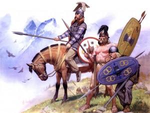 Гальские воины латенской культуры