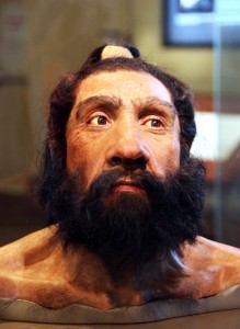 Голова неандертальца
