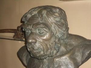 Реконструкция головы неандертальца Ля-шапель-о-сен