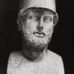Перикл. Мрамор. Римская копия II-го в. н.э. с греческого оригинала ок. 425 г. до н.э. Скульптор Кресилас. Лондон, Британский музей.