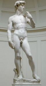 Статуя Давида, работы Микеланджело