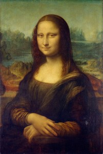 Мона Лиза, работы Леонардо да Винчи