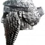 Бронзовая голова царя, скорее всего, Саргона Древнего