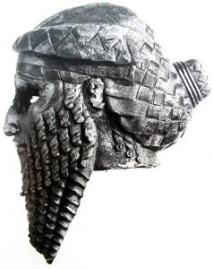 Бронзовая голова царя Саргона Древнего