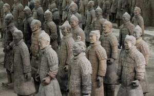 Терракотовые воины из гробницы Цинь Шихуанди