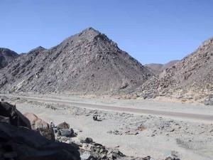 Современная дорога Вади-Хаммамат