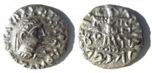 Монета Зоила II. Индо-греки