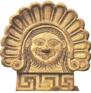 Этрусский антефикс. 4 век до н.э.