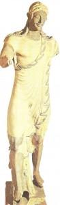 Аполлон из Вей. Терракота. Этрурия. 6 век до н.э.