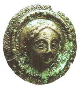 Бляха. Тахтит-Сангин. 2 век до н.э.