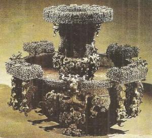 Ритуальная бронза из царского погребения. Древний Китай. 5 век до н.э.