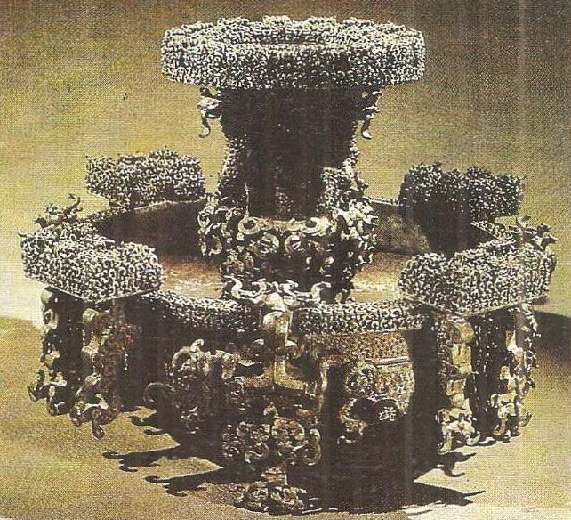 Древнекитайская цивилизация Джаньго Цинь Ханьская эпоха История  Ритуальная бронза из царского погребения с человеческими жертвоприношениями Хубэй v в до н э