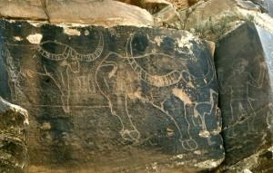 Изображение древнего буйвола