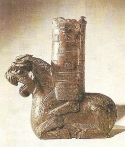 Деталь трона урартского божества. 8 век до н.э.