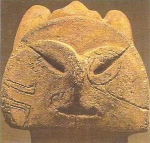 Деталь глиняной статуэтки. 3-2 тыс. до н.э. Япония