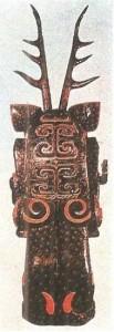 Дух-хранитель из могилы. 5-3 века до н.э. Китай