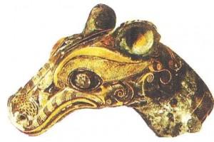 Украшение дышла колесницы. Древний Китай. 5-3 века до н.э.