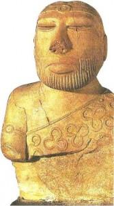 Фигура жреца. Мохенджо-Даро. 3 тыс. до н.э.