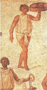 Фрагмент мозаики из Карфагена. 2 век н.э.
