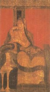 Фреска виллы Мистерий в Помпеях. 1 век до н.э.
