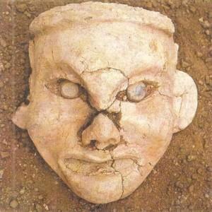 Голова богини. Хуншань. Китай. 3 тыс. до н.э.