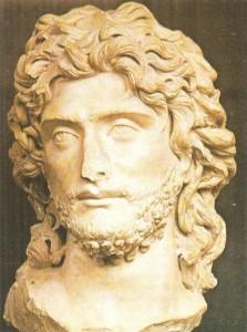 Голова мужчины. Мрамор. 3 век. Древний Рим