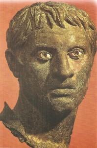Голова мужчины. Бронза. 1 век до н.э.