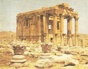 Храм Баалшамина в Пальмире. 1 век н.э.
