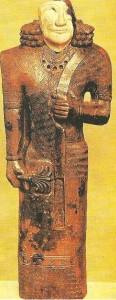 Кариатида. Деталь трона. Урарту. 8 век до н.э.