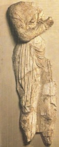 Скульптурная композиция. Топрак-Кала. 3-4 века н.э.