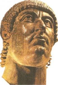 Константин Великий. Бронза. 4 век