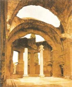 Купальня на вилле Адриана в Тиволи. 130-138 гг.