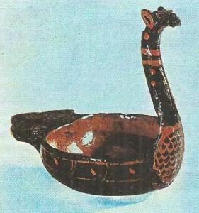 Лаковая ладья. Древний Китай. 3 век до н.э.