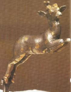 Фигурка лани. Золото. Ахеменидский период