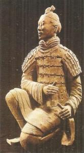 Лучник императорской гвардии. Терракота. Конец 3 века до н.э. Могила Цинь Шихуанди