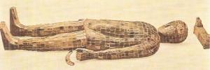 Погребальное облачние знатной китайской женщины. 2 век до н.э.