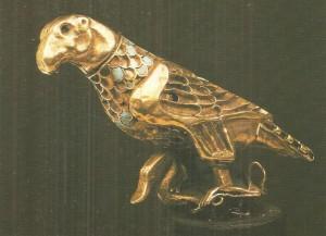 Орел, терзающий лебедя. Ахеменидский период