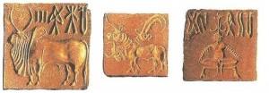 Стеатитовые печати. Мохенджо-Даро. 3 тыс. до н.э.