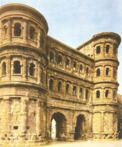 Порта Нигра в римской колонии Трир. 2 век н.э.