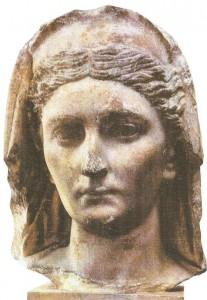 Женский портрет. Первые века н.э. Древний Рим