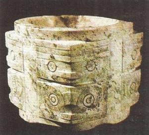 Ритаульный предмет. Нефрит. Китай. Эпоха Шан