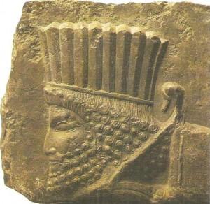 Рельеф из дворца в Персеполе. 4 век до н.э.