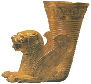 Золотой ритон. Хамадан. 5 век до н.э.