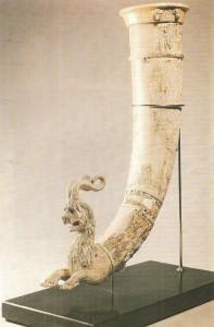 Ритон. Слоновая кость. Ниса. 2 век до н.э.