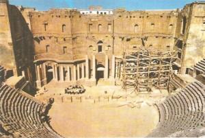 Сцена театра в Босре. 2 век н.э.