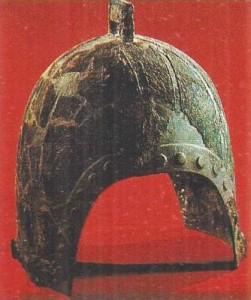 Бронзовый шлем. Китай. 1 тыс до н.э.